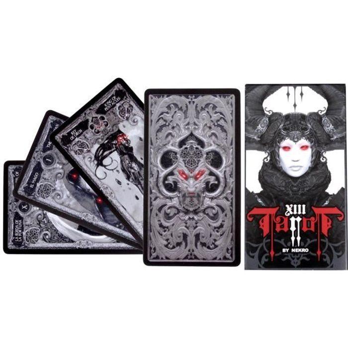 CARTES DE JEU Jeu de tarot gothique
