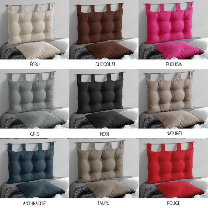 t te de lit pattes 45 x 70 cm diff rents coloris. Black Bedroom Furniture Sets. Home Design Ideas