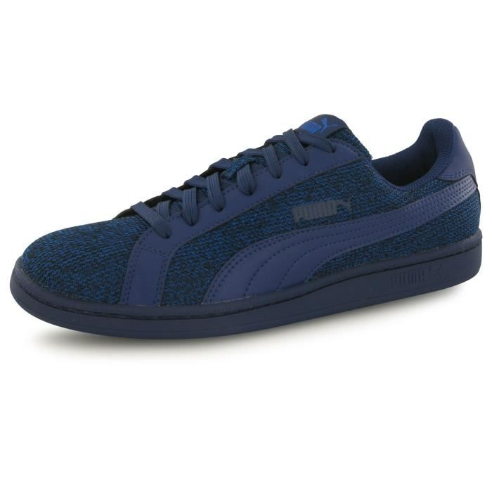 Mode Smash Puma Homme Baskets Bleu Knit dIwqxrwpU