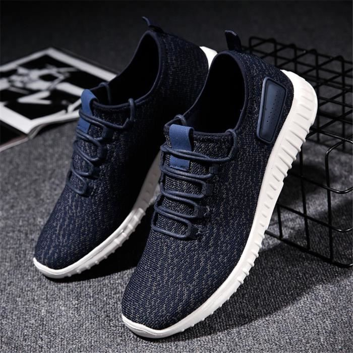 homme sneaker 2018 mode meilleure qualit sneakers marque de luxe mode poids l ger antid rapant. Black Bedroom Furniture Sets. Home Design Ideas
