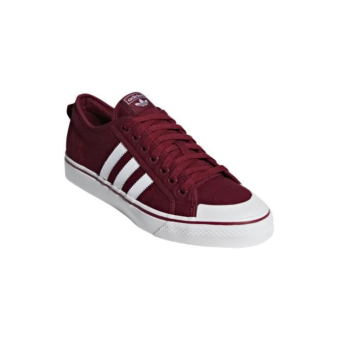 Adidas Originals Chaussures de lifestyle adidas Nizza Rouge ...