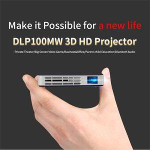 ECRAN DE PROJECTION Smart DLP Mini Projecteur Android WiFi Bluetooth 1