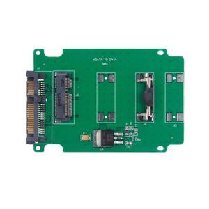 REPARTITEUR TV Mini Disque dur SSD PCI-E mSATA vers une carte con