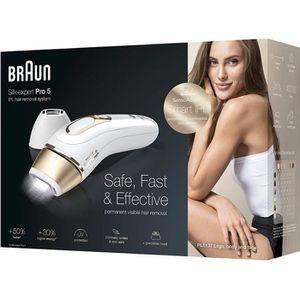 LUMIERE PULSEE - LASER Braun Silk·Expert Pro 5 PL5137 Épilateur Lumière P
