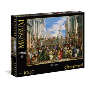 PUZZLE CLEMENTONI PUZZLE Collection Museum 1000 pièces -