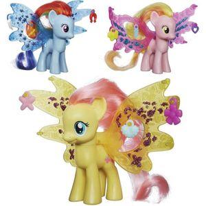 FIGURINE - PERSONNAGE My Little Pony Ailes Féeriques Coloris Aléatoire H