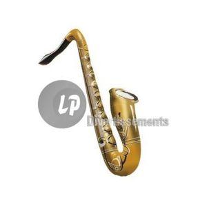 Taille Unique Widmann Saxophone gonflable Orange