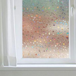 FILM POUR VITRAGE Film de Fenêtre Electrostatique Autocollant 3D san
