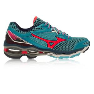 separation shoes e3eb5 0b409 CHAUSSURES DE RUNNING Mizuno Wave Creation 18 Femmes Rose Bleu Amorti Ru ...