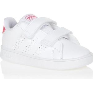 BASKET ADIDAS Baskets ADVANTAGE I - Enfant - Blanc/Rose
