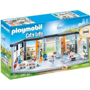 UNIVERS MINIATURE PLAYMOBIL 70191 - City Life - Clinique équipée - N
