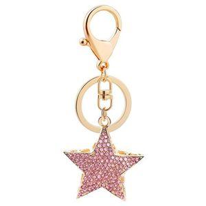 PORTE-CLÉS r Porte-clés Style étoile Porte-clés Diamant Voitu