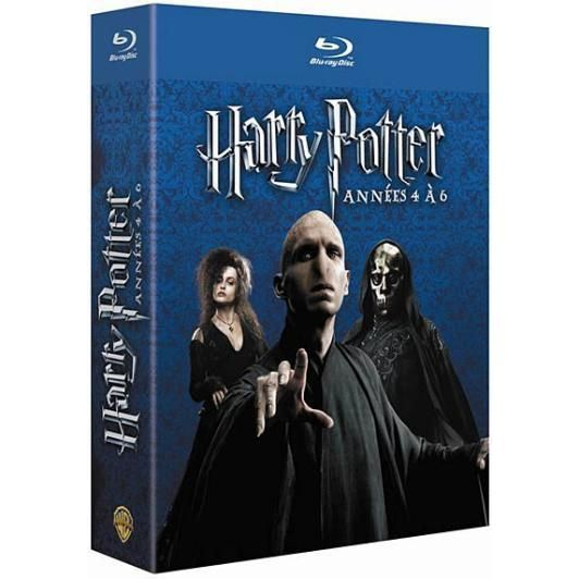 blu ray coffret harry potter vol 4 6 en blu ray film pas cher cdiscount. Black Bedroom Furniture Sets. Home Design Ideas