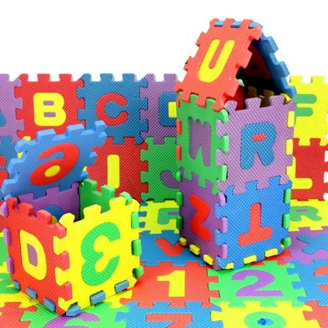 Cadeau de Noël 36 Pcs Bébé Enfant Numéro Alphabet Puzzle Mousse Maths Jouet Éducatif Cadeau LNP60714365