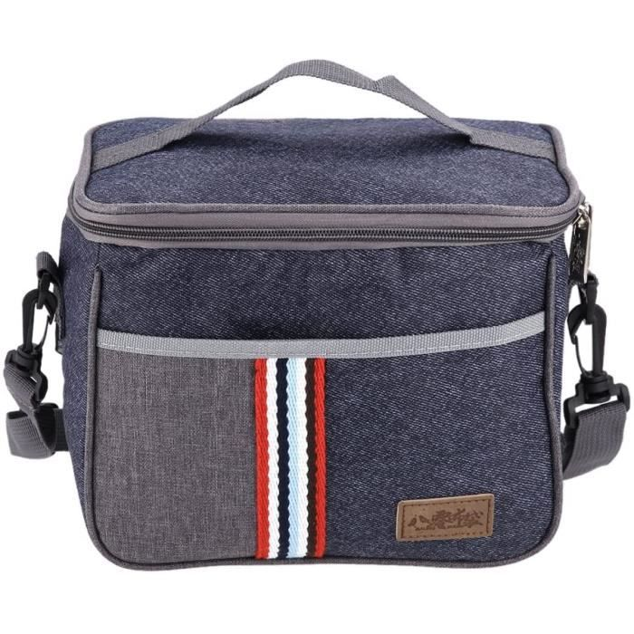 Sac Isotherme Repas Sac Isotherme Grande Capacit&eacute Sac Lunch Box Glaciere Taille Ad&eacutequate Pour Casse Cro&ucircte R227