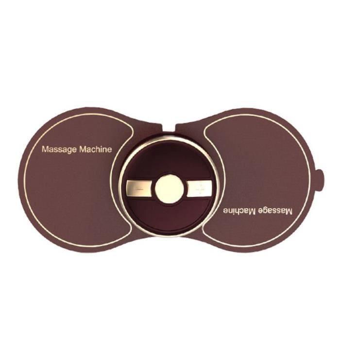 Couleur Brown Mini masseur électrique de Massage d'usb cou d'épaule masseur relaxant de Muscle Cervical U2JD