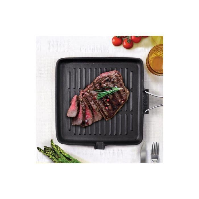 Grill BIALETTI fonte induction 24cm x 24