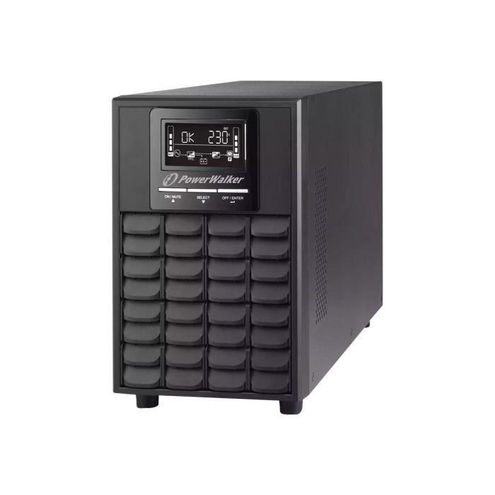 Powerwalker Vfi 1000 Cg Pf1 Onduleur 1000 Watt 1000 Va 7 Ah Rs 232, Usb connecteurs de sortie : 4
