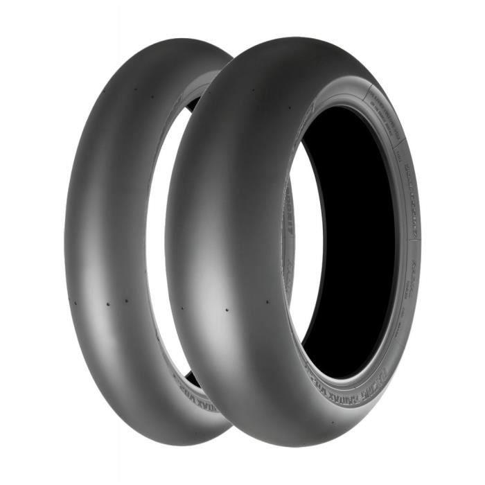 BridgestoneBridgestone V02 F ( 120-600 R17 TL M-C, Mischung SOFT, NHS, Roue avant )120-600 R17 TL M-C, Mischung SOFT, NHS, Roue