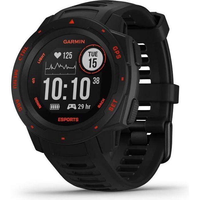 GARMIN Montre GPS Instinct® – Esports Edition, Noire lave