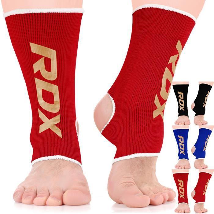 RDX Boxe Soutien Cheville Maintien Support Fitness Bandage MMA Chevillère Pied Sport
