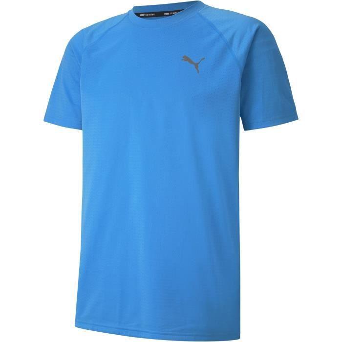 Tee-shirt homme - PUMA - Nrgy - Bleu
