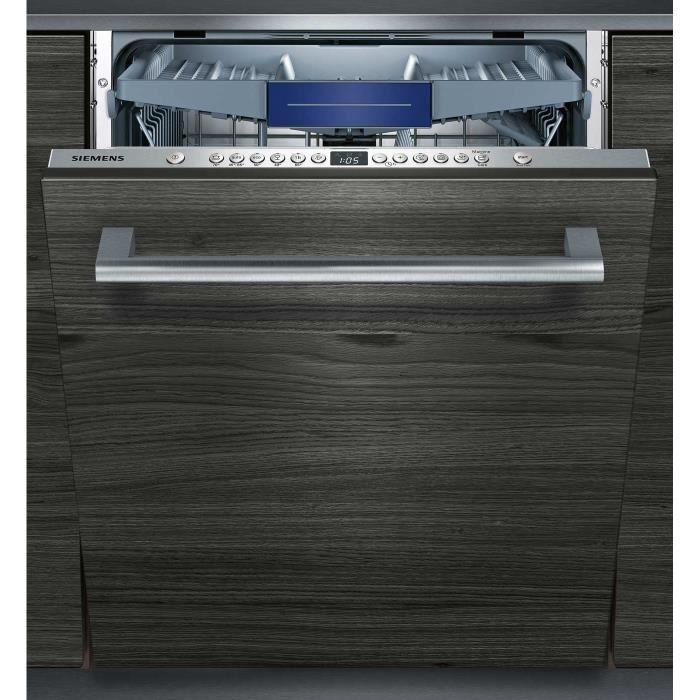 SIEMENS Lave-vaisselle intégrable SN636X01KE VarioSpeed Plus