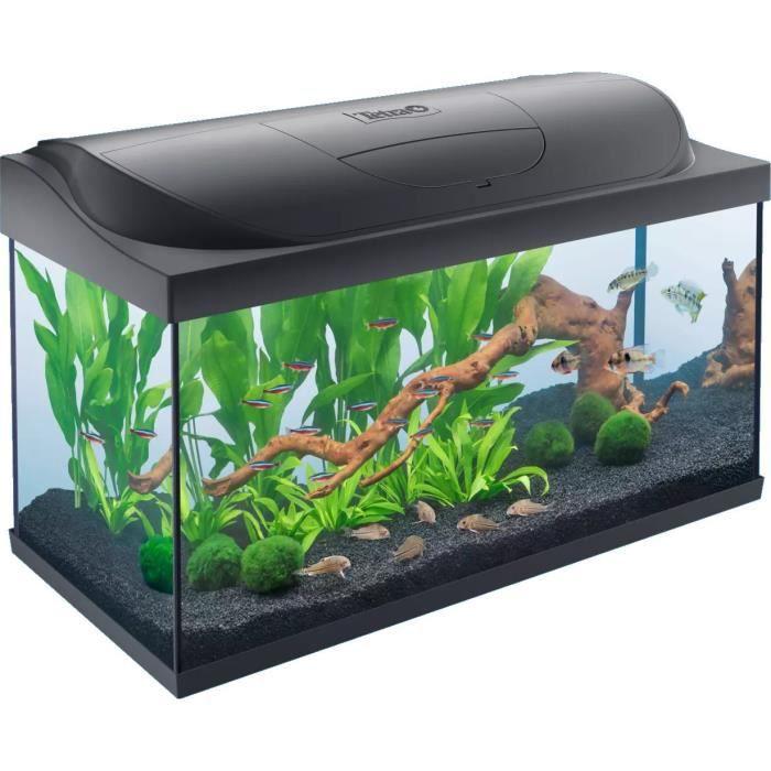 TETRA Starter Line LED Set 105 L - Noir - Pour poisson
