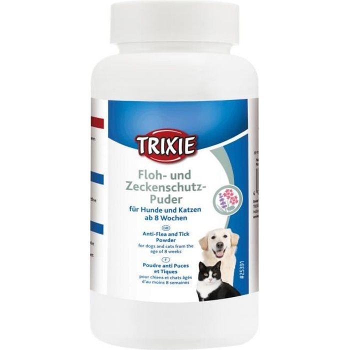 Poudre anti-puces et tiques pour chats et chiens 150 g-Trixie 10,000000