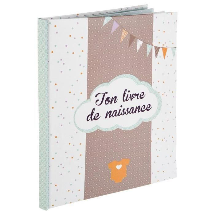 livre de naissance 56 pages gar on achat vente coffret. Black Bedroom Furniture Sets. Home Design Ideas