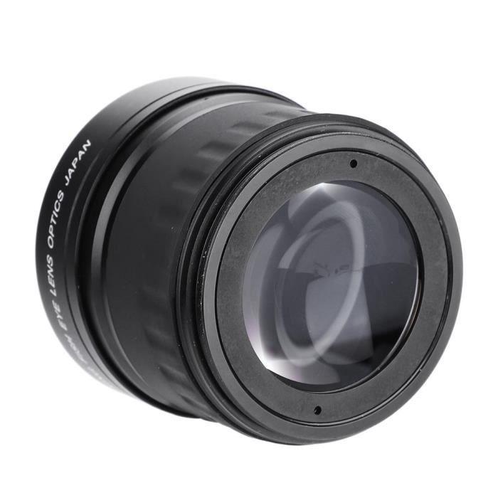 OBJECTIF Xuyan Objectif Fisheye Grand Angle 58mm 0.21X pour