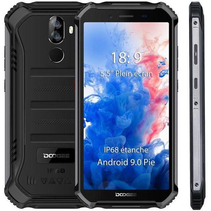 """SMARTPHONE DOOGEE S40 Smartphone IP68 Etanche 5.5"""" Android 9."""