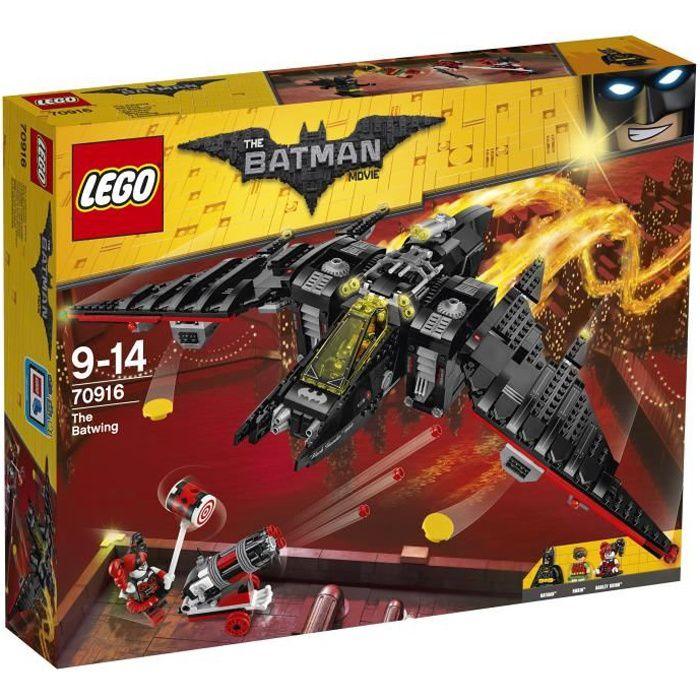 ASSEMBLAGE CONSTRUCTION LEGO® Batman Movie 70916 Le Batwing
