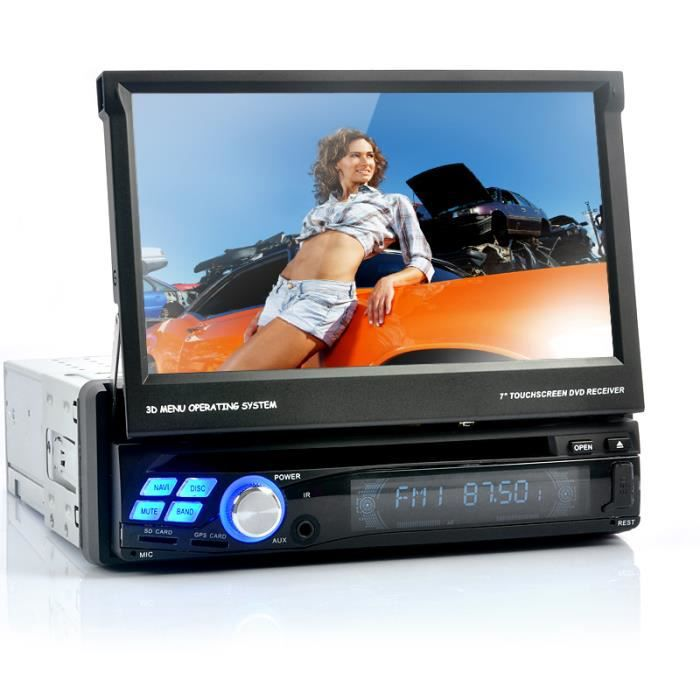 autoradio multimedia dvd 1din android gps wifi 3g achat. Black Bedroom Furniture Sets. Home Design Ideas