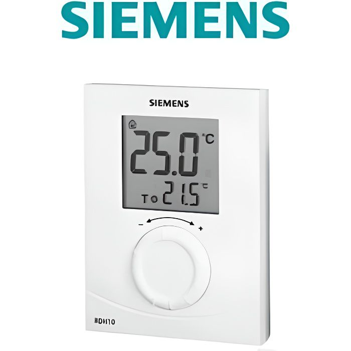 Thermostat dambiance CFF 0000028 CHAPPEE digital programmation hebdomadaire filaire compatible toutes chaudi/ères