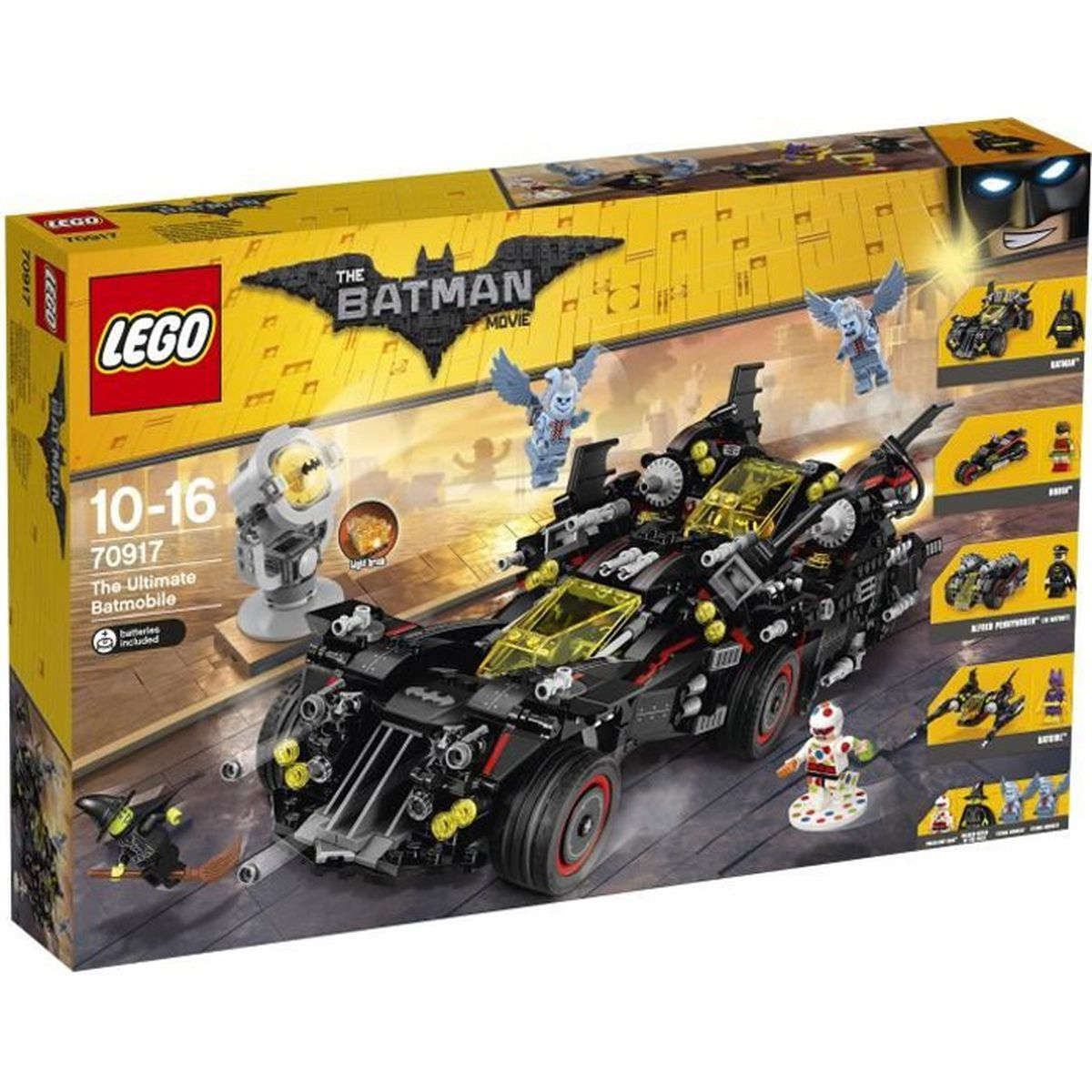 lego batman movie 70917 la batmobile supr me achat vente voiture enfant cdiscount. Black Bedroom Furniture Sets. Home Design Ideas