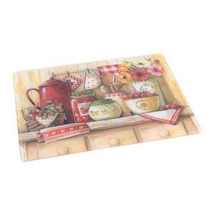 PLANCHE A DÉCOUPER Planche à découper en verre trempé cuisine Multico