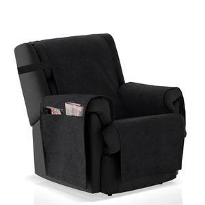 HOUSSE DE FAUTEUIL Couvre-fauteuil Blasca, Taille 1 place (55cm), Cou