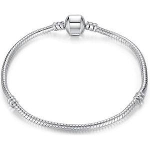 BRACELET - GOURMETTE 20 cm Bracelet Style Pandora Nu Argent 925