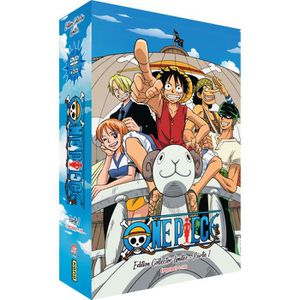 DVD MANGA One Piece - Partie 1 - Edition Collector Limitée (