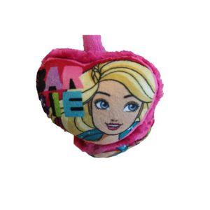 BONNET - CAGOULE beau cache oreilles barbie rose ajustable