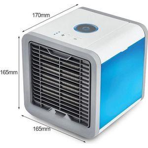 CLIMATISEUR FIXE ChangM® MINI Climatiseur Portable LED 7 Couleurs