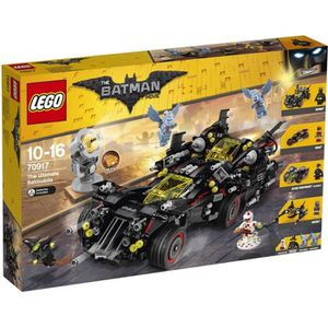 ASSEMBLAGE CONSTRUCTION LEGO® Batman Movie 70917 La Batmobile suprême