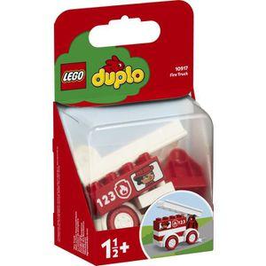 ASSEMBLAGE CONSTRUCTION LEGO® DUPLO® 10917 - Le camion de pompiers