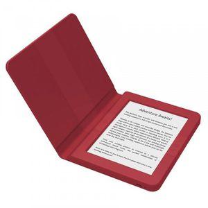 EBOOK - LISEUSE lecteur multimedia ,Bookeen Saga (rouge) - Liseuse