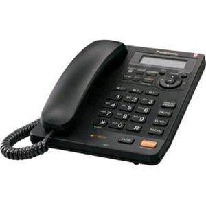Téléphone fixe TÉLÉPHONE PANASONIC TÉLÉPHONE FIXE KX-TS620EXB NOI