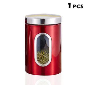BOITES DE CONSERVATION Les boîtes de stockage de sucre de café de thé jar