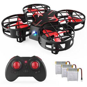 DRONE SNAPTAIN H823H Plus Mini Drone Enfant avec 3 Batte