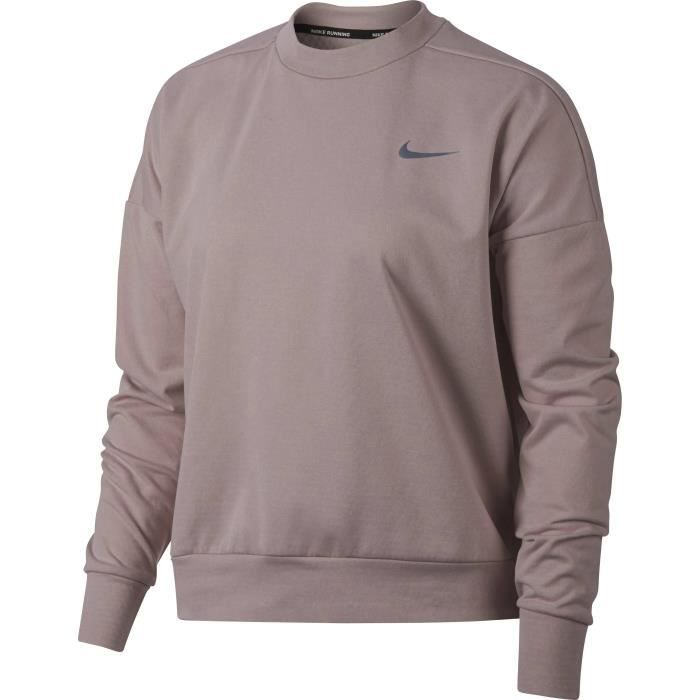 NIKE Sweat-shirt Therma Sphere Element - Femme - Rose
