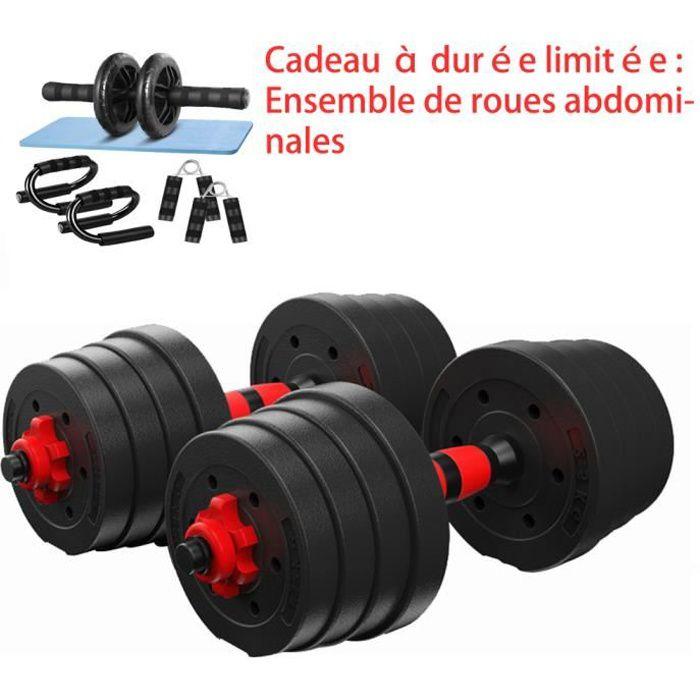 haltère réglable kit 30kg les haltères musculation , Haltère domestique Poids Ajustable